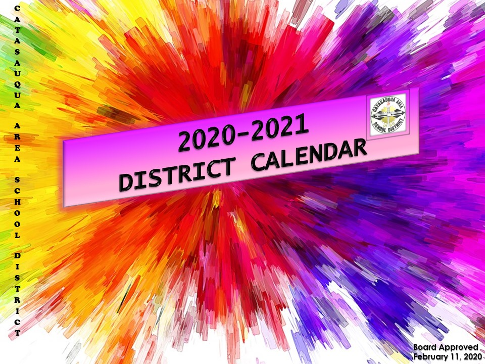 2020-2021 District Calendar